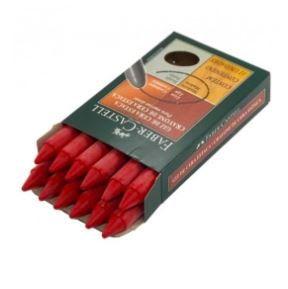Giz de Cera Estaca Gift C/12 Vermelho - Faber Castell