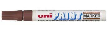 Marcador Permanente Marrom Paint Marker Px 20