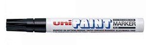 MARCADOR UNI-BALL PAINT PX 20 PERMANENTE PONTA 2.8 PRETO