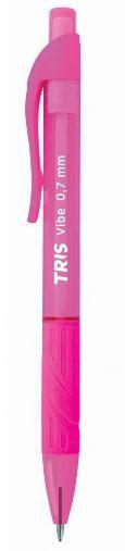 Lapiseira TRIS rosa 0.7 mm Vibe