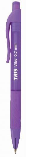 Lapiseira TRIS  Roxa 0.7 mm  Vibe