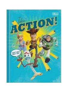 Caderno Brochurao 80f Cd  Toy Story 4 Tilibra
