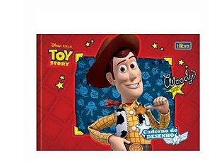 Caderno Cartografia 40Fls Toy Story Tilibra
