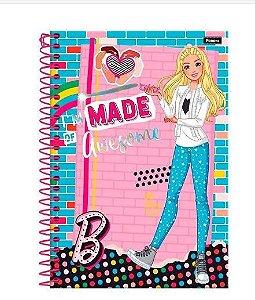 Caderno 1/4 80 Fls C.d. Foroni - Barbie 3