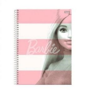CADERNO 10 MATERIAS BARBIE FASHION FORONI