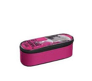 Estojo KP Barbie Rosa  - Foroni