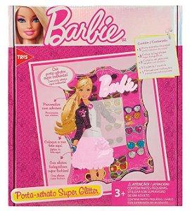 Kit Tris Criativo Barbie Porta Retrato Super GlitteR – 17 Peças