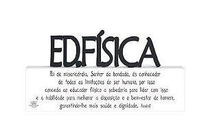 Madeirinha Profissões Educação Física 9X18,5