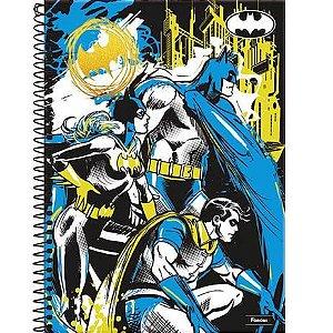 Caderno Capa Dura Espiral Batman 10 materias  Foroni