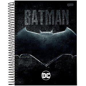 Caderno Universitário Espiralado - Capa Dura - 10 Matéria - DC Comics - 200 Folhas - Jandaia