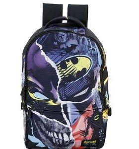 Mochila Escolar Costas Batman Preto Xeryus Original