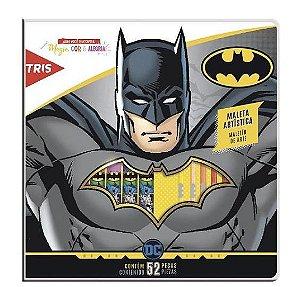 Maleta Artística Tris Batman com 52 Peças