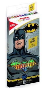 Lapis Cor Batman 12 Cores