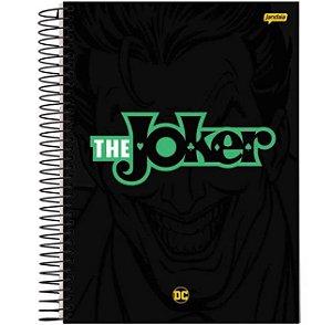 Caderno Universitário Espiralado - Capa Dura - 1 Matéria - DC Comics - The Joker - 96 Folhas - Jandaia