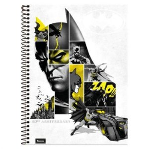 Caderno Universitário 1 Matéria Batman BR 96 fls Foroni