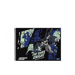 Caderno de Cartografia e Desenho Espiral Batman 96 Folhas