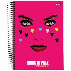 Cadernos 1 matéria  Birds Of Prey 96 Folhas - Jandaia