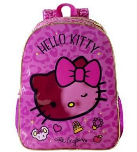 Mochila Escolar Hello Kitty Glam 16 Xeryus