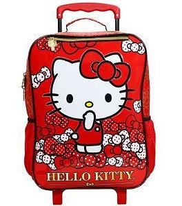 Mala Com Rodas 16 Hello Kitty Bow Bow