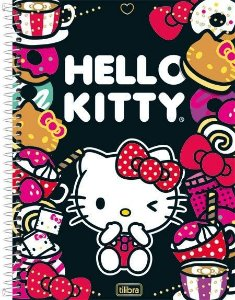 CADERNO 1 MATERIA CPD HELLO KITTY