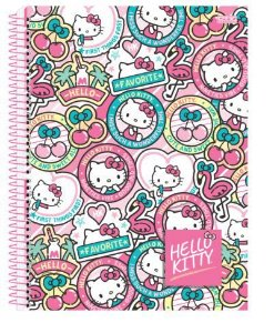 CADERNO 10 MATÉRIAS - HELLO KITTY