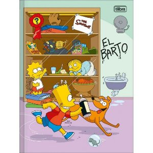 Caderno Brochurao 80f Cd  Simpsons Tilibra