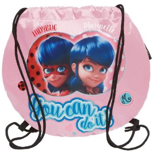 Bolsa Saco Miraculous Fashion