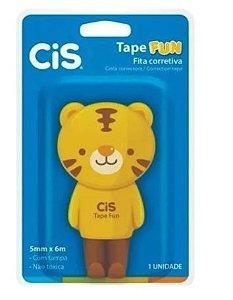 Fita Corretiva Tape Fun 5mm X 6m Tigre - Cis