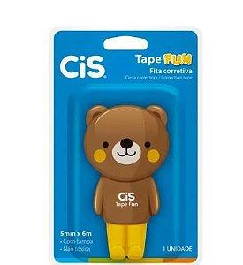Fita Corretiva Tape Fun 5mm X 6m Urso  - Cis