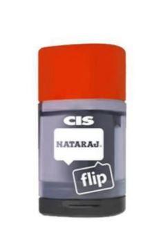 Apontador Deposito Cis Nataraj Flip com Borracha
