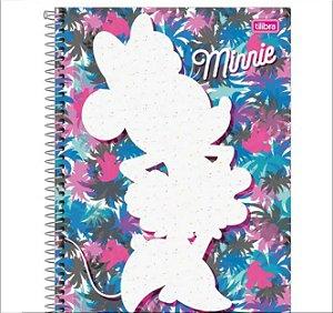 Caderno de Espiral  Disney - Minnie Mouse - Fashion - 10 Matérias - Tilibra