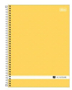Caderno Universitário Capa Dura 16x1 256 fls Academie - Tilibra
