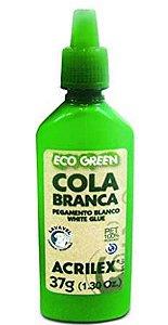 Cola Ecogreen 37 g, Acrilex, , Branco