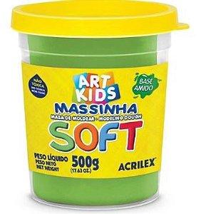 Massinha de Modelar Soft 500g Verde 101 Acrilex