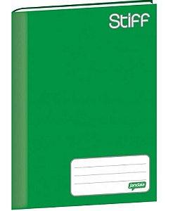 Caderno Brochura 1/4 Stiff Verde 96 Folhas Jandaia