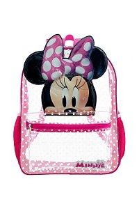 Mochila Escolar Infantil Minnie Mouse 14' Xeryus