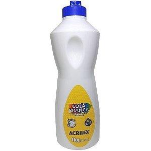 Cola Liquida Branca 1KL  Acrilex