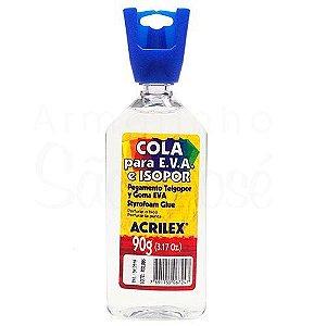 Cola Eva e Isopor Acrilex 90g