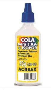 COLA ISOPOR 35G ACRILEX