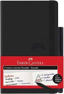 Caderneta Creative 84f Pautado Pt +caneta - Faber