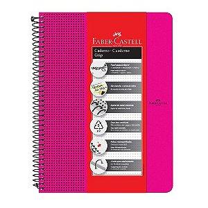 Caderno Grip Pautado 80f Rosa - Faber Castell