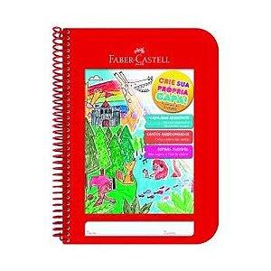 Caderno Criativo 96f Vermelho - Faber Castell