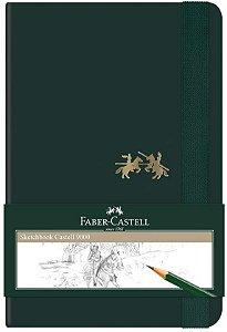 Caderneta Sketchbook 80f S/pauta Peq - Faber