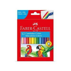 Caneta Hidrografica C/12 Sortida - Faber Castell