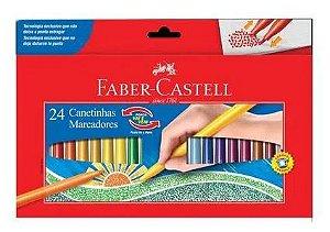 Canetinha C/24 Vai E Vem - Faber Castell