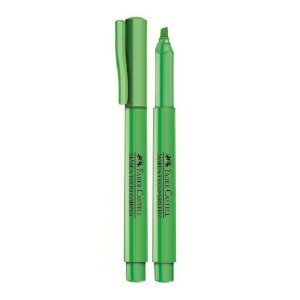 Caneta Marca Texto Grifpen Verde - Faber Castell