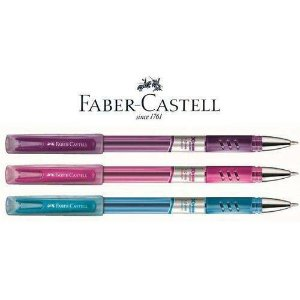 Caneta Xtreme 1,0mm C/tampa Med Colors - Faber