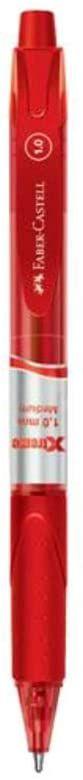 Caneta Xtreme 1,0mm Retratil Med Vermelha - Faber