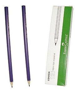 Lapis Preto Copia Violeta - Cx/12 - Faber Castell