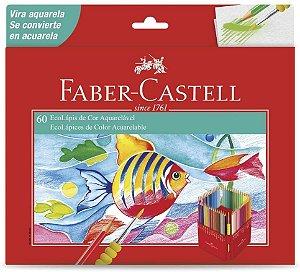 Ecolapis Cor C/60 Aquarelavel - Faber Castell